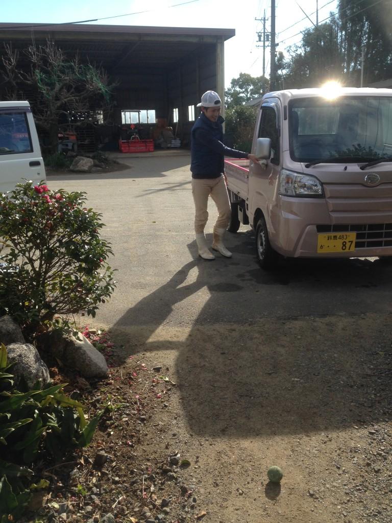 関戸の洗車