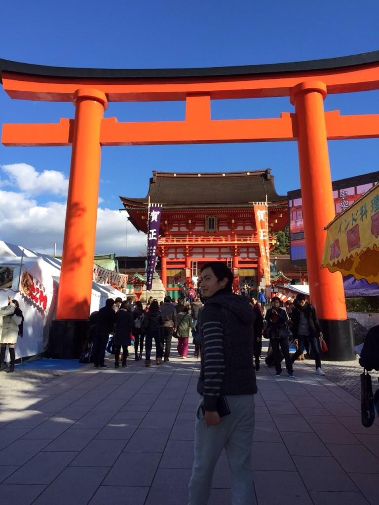 京都の伏見稲荷