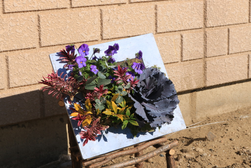 花の教室で使う作品
